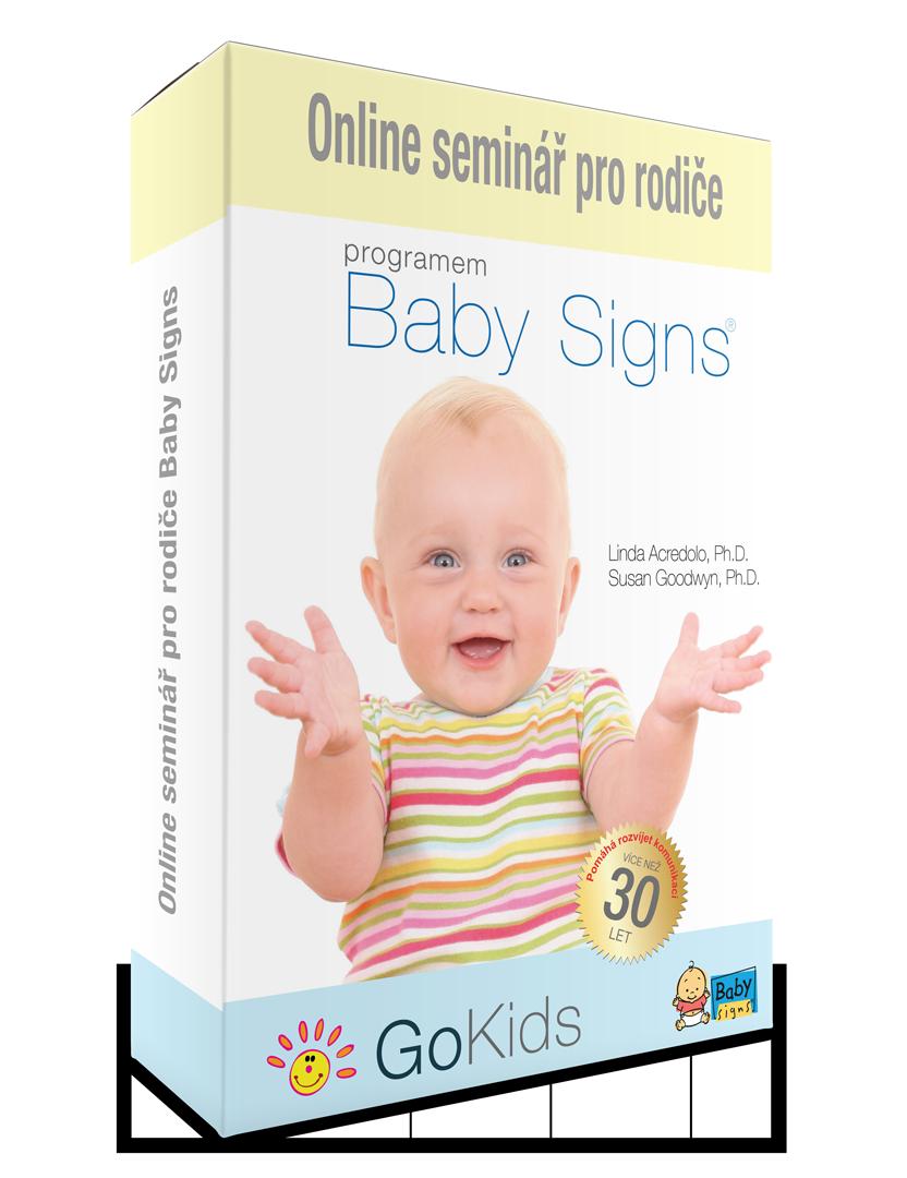 Online kurz znakování Baby Signs